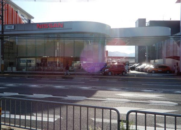 京都の車検ができる自動車ディーラー(日産)